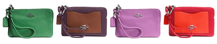 Coach Wristlets Only $30.94! Down From $65.00! Ships FREE!
