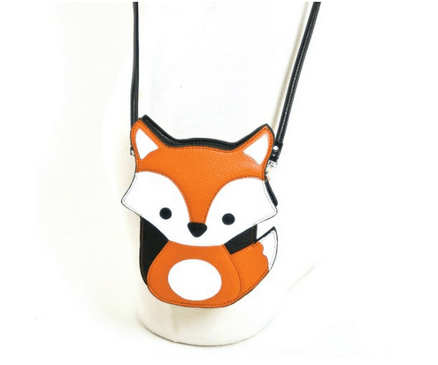 Baby Fox Embroidered Faux Leather Cross Body Bag Only $16.99 (Reg. $30)!