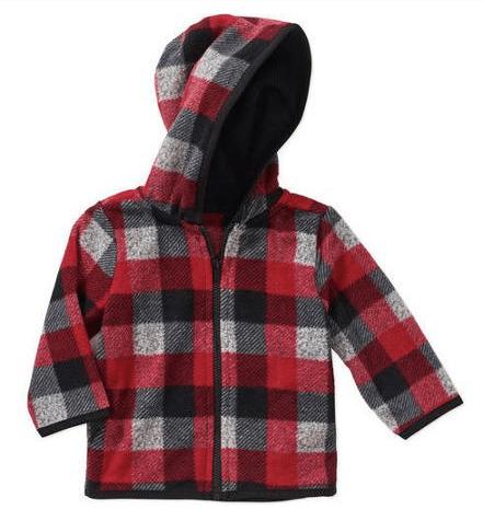 Garanimals Newborn Baby Boy Printed Microfleece Hood Just $2.00 At Walmart!