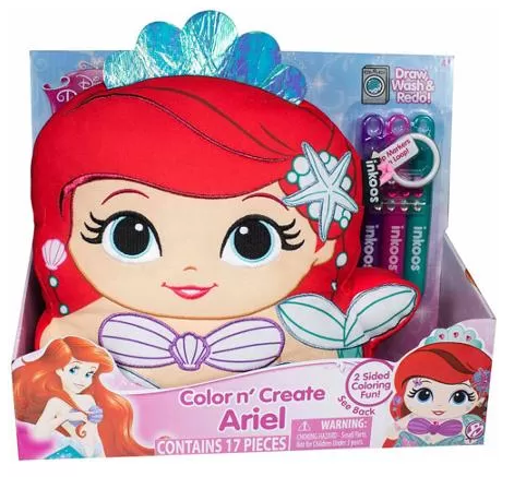 Inkoos Create and Color Disney Princess Ariel Just $11.98! Down From $19.19!