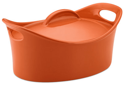 Rachael Ray Stoneware 4.25 Qt. Covered Casseroval Baking Dish Only $18.74! Down From $100!