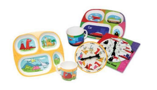 Daydream Toy Play With Your Food Dinosaur and Transportation Double Eating Set Just $13.00 Down From $29.99 At Sears!