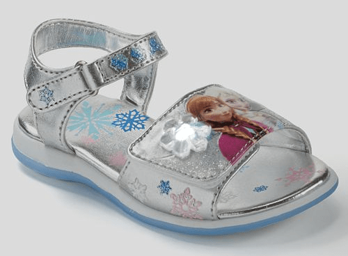 Frozen Light-Up Sandals Only $15.11 Down From $37! Plus 2 FREE Flip Flops! Ships FREE!