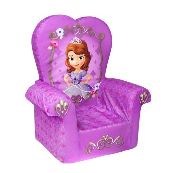 Disney Princess Sofia The First Marshmallow Children's Chair Just $16.84! Best Price!