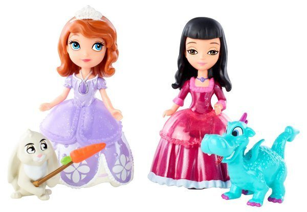 Sofia The First Sofia, Vivian And Animal Friends Giftset