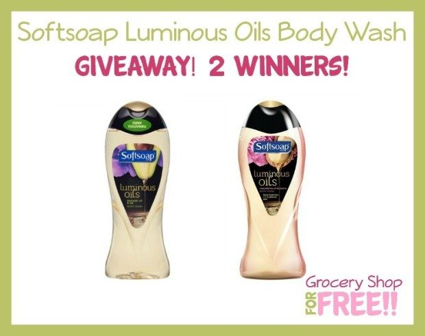Softsoap Luminous Oils Body Wash Giveaway!  2 Winners!