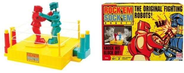 Rock 'Em Sock 'Em Robots Game Just $9.99!  Down from $19.99!