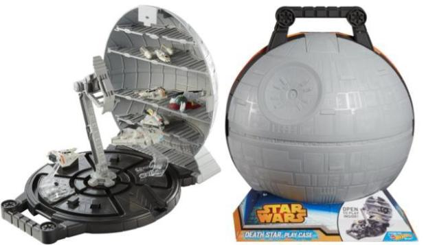 Hot Wheels Star Wars Death Star Portable Playset Just $12 Down From $20!