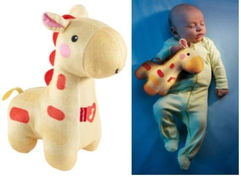 Fisher-Price Soothe And Glow Giraffe Just $10.12 Down From $13!
