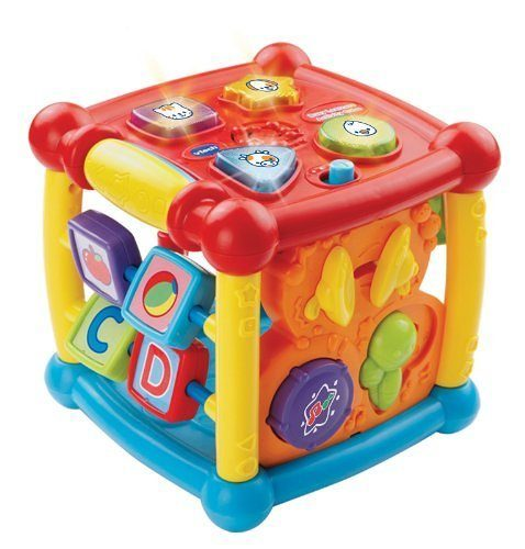 VTech Busy Learners Activity Cube $12.99 + FREE Shipping with Prime!