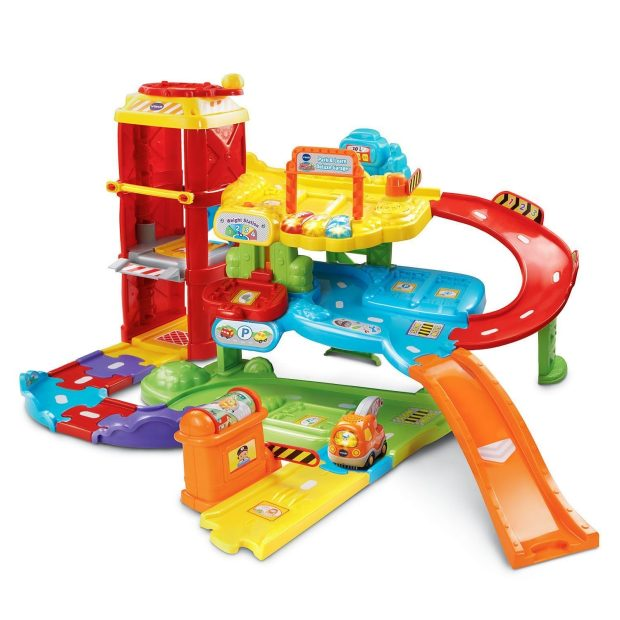 VTech Go! Go! Smart Wheels Park and Play Deluxe Garage Only $29.99! Down From $42!
