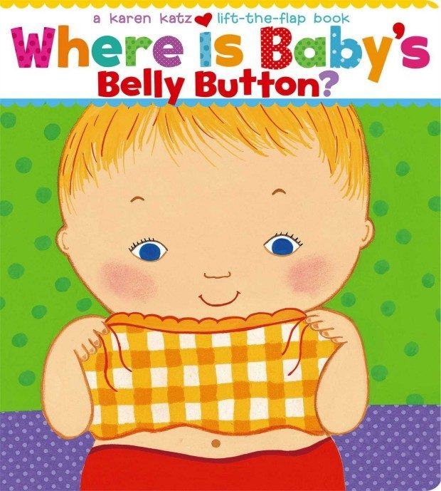 Where Is Baby's Belly Button? A Lift-the-Flap Book Just $3.22!