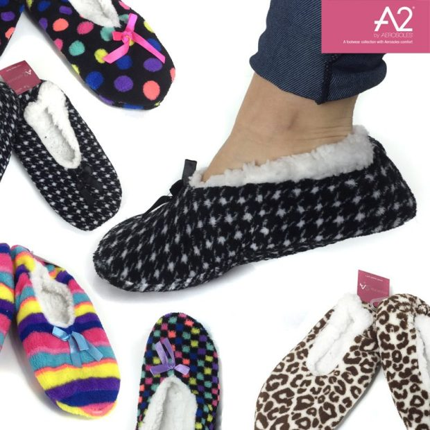 Aerosoles Slipper Socks With Sherpa Lining $8/1 Pair Or $18/3! Ships FREE!