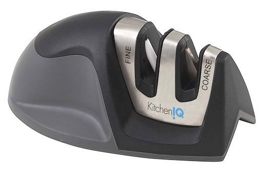 KitchenIQ 50009 Edge Grip 2 Stage Knife Sharpener For Only $5.99!