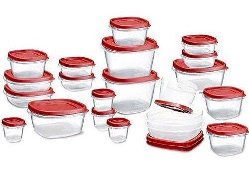 Rubbermaid 42-Piece Easy Find Lid Food Storage Set Just $19.99!