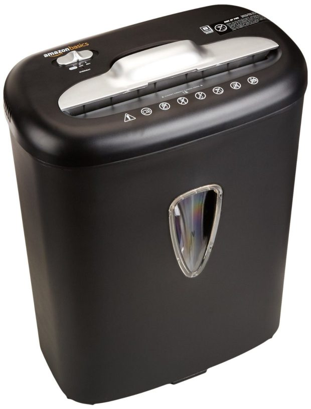8-Sheet Cross-Cut Paper & Credit Card Shredder Only $34.99! (Reg. $40)