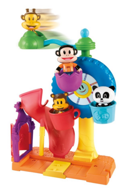 Fisher-Price Julius Jr. Twirl-A-World Amusement Park Just $9.22 Down From $22!