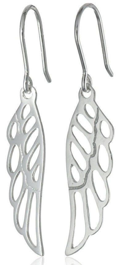 Sterling Silver Angel Wing Drop Earrings Only $9.99! (Reg. $40)