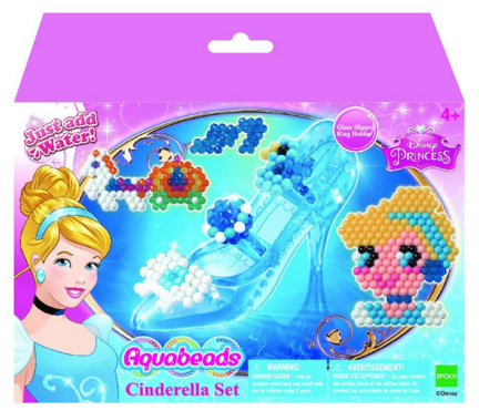 AquaBeads Disney Cinderella Playset Just $7.49 Down From $15!