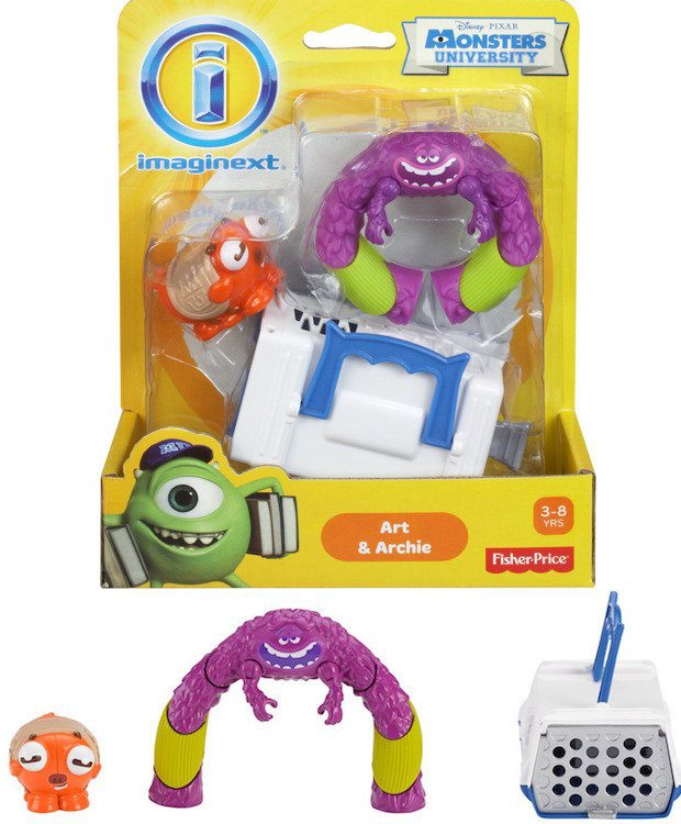Fisher-Price Imaginext Monster's University Art & Archie Playset Just $2.99!  (Reg. $10!)