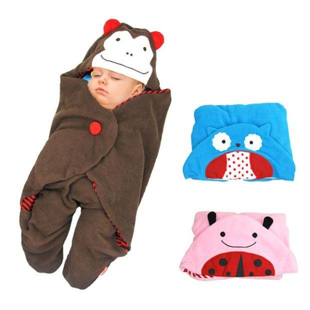 Animal Baby Bundle Blanket Only $20.12! Ships FREE!