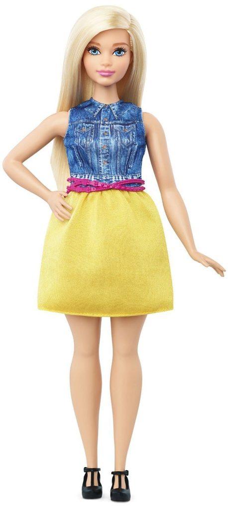 Barbie Fashionistas Doll 22 Chambray Chic - Curvy Only $7.94! (Reg. $12)
