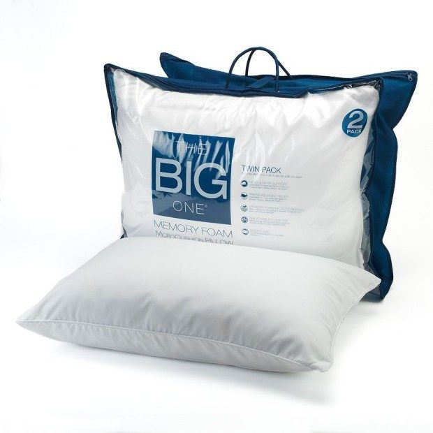 The Big One® 2-pk. Gel Memory Foam Bed Pillows Just $14.39!