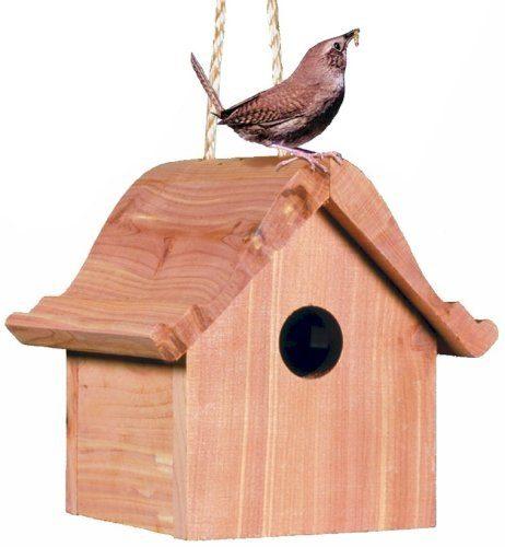 Perky-Pet Wren Home Cedar Birdhouse Just $12.97!