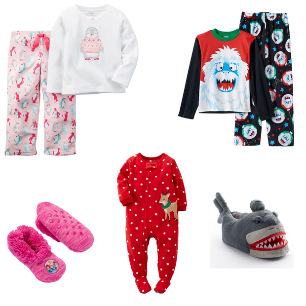 PJs & Slippers For 3 Kids Just $32.55!