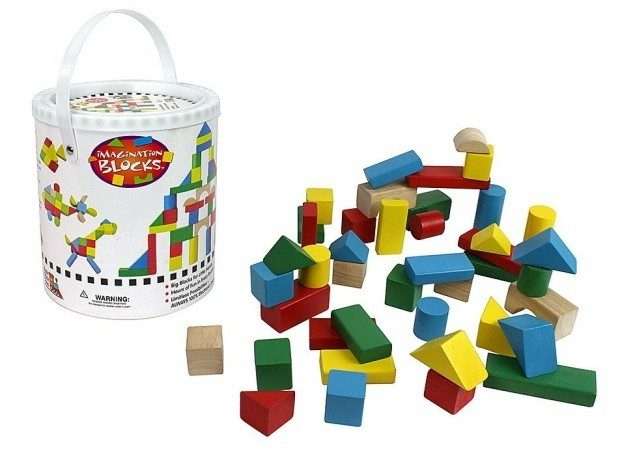 42 Pc Wood Building Block Set Only $13.95 (Reg. $20)!