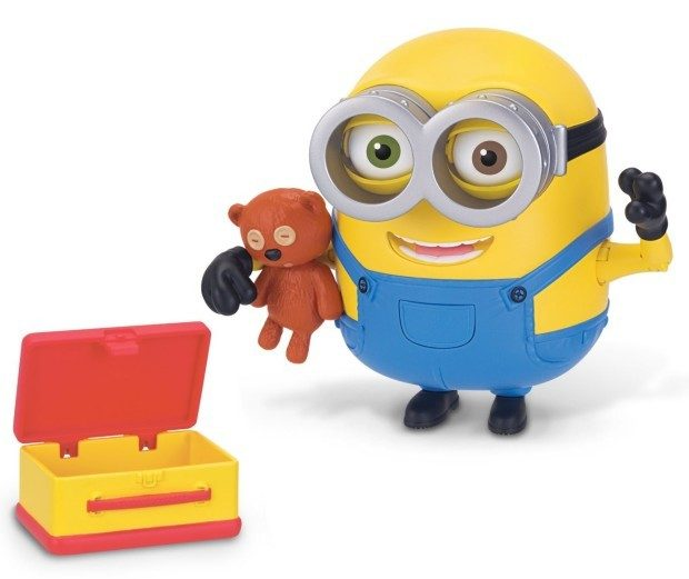 Prime Exclusive - Minions Deluxe Action Figure - Bob with Teddy Bear Just $10.23!