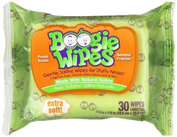 Boogie Wipes 30 Ct -12 Pks Just $1.24 Per Pack!