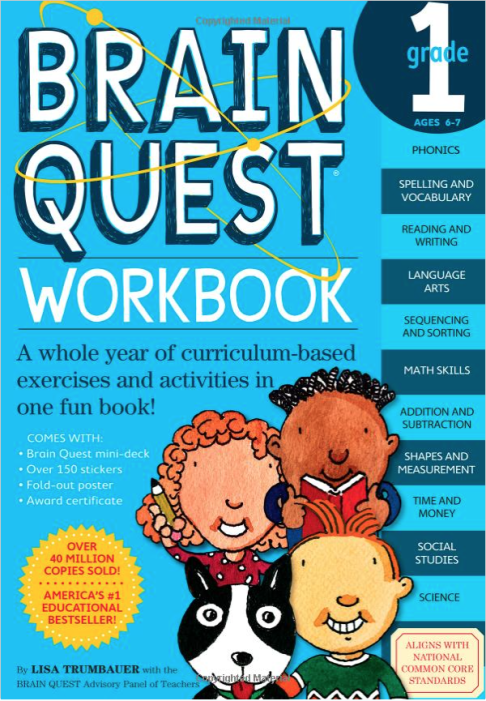 Brain Quest Workbooks - Pre-Kindergarten to Grade 6 - As Low As $7.46!