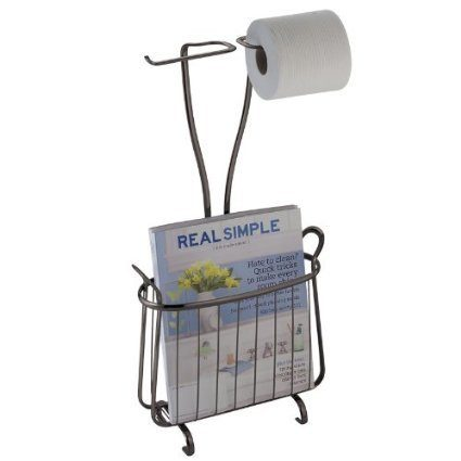 Toilet Paper Holder & Magazine Rack Only $16!