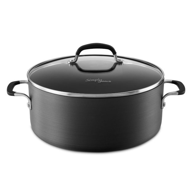 Simply Calphalon Nonstick 7-qt. Dutch Oven & Cover Only $29.99!