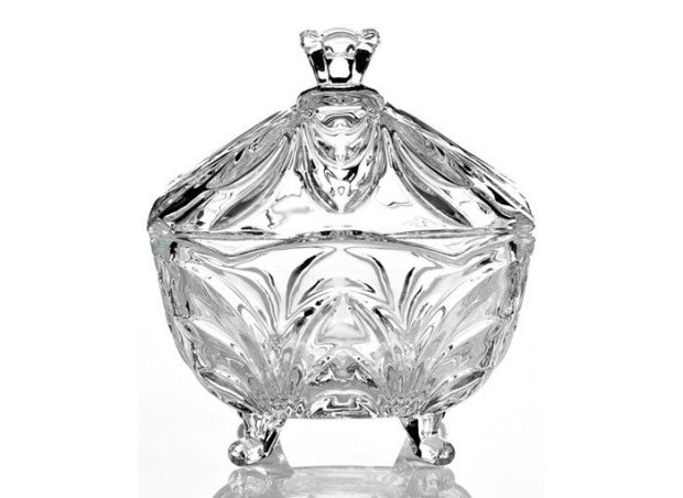Serenade Crystal Covered Candy Dish Only $7.50!!