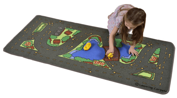"""Learning Carpets Drive Around The Park, 27 x 60"""" Just $12.71 Down From $30!"""