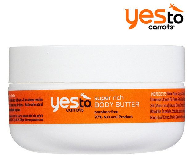 Yes To Carrots Super Rich Body Butter 4 Pack Only $9.99 Plus FREE Shipping!