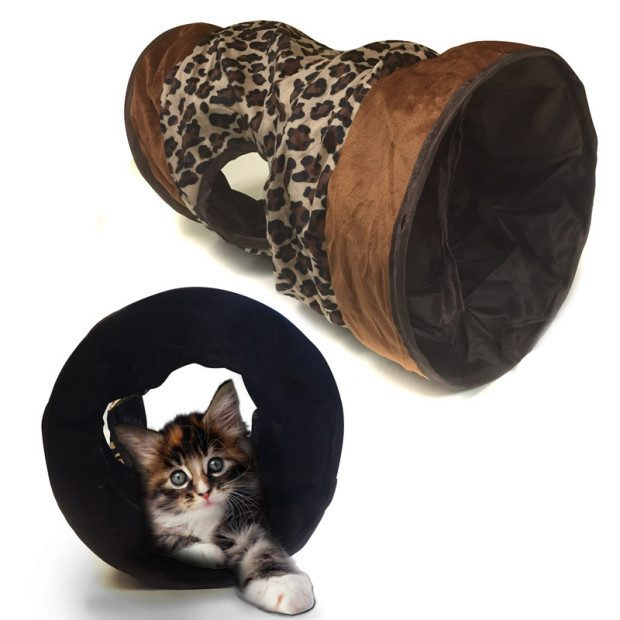 Kitty Krackel Tunnel $6/1 Or $10/2 Shipped FREE!