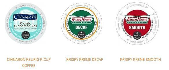 24 Ct. Krispy Kreme Or Cinnabon K-Cups Only $12.11!