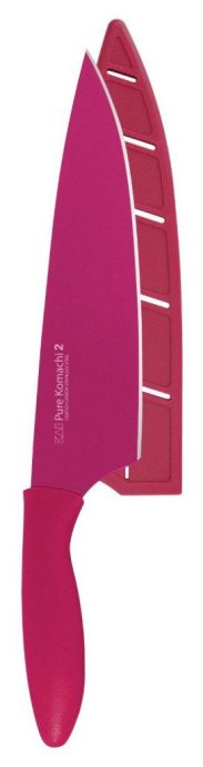 """8"""" Chef's Knife In Fuchsia Only $9.79!"""