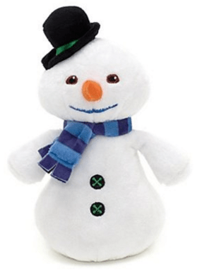 Doc McStuffins CHILLY Beanbag Plush Snowman Just $16 Down From $30!