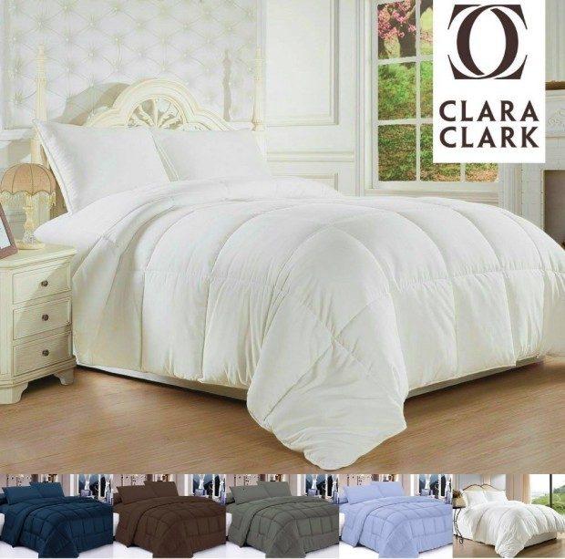 Down Alternative Comforter Duvet, King/California King Only $35.52!