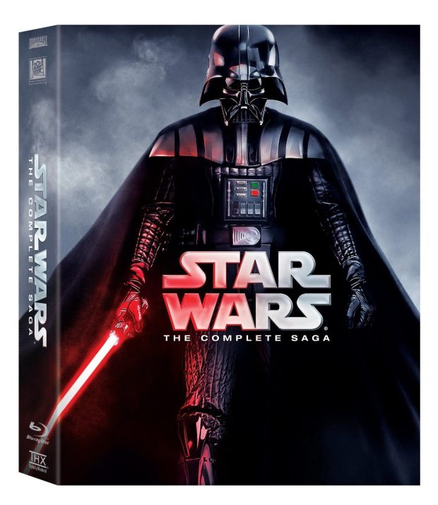 Star Wars: The Complete Saga [Blu-ray] Just $89.96 (Reg. $140!) Ships FREE!
