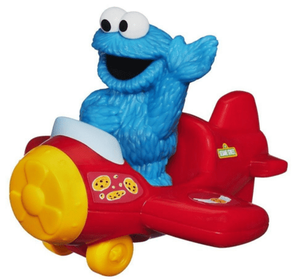 Playskool Sesame Street Cookie Monster With Airplane Just $9 Down From $20!