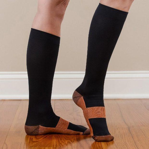 Copper Anti-Fatigue Compression Socks Just $10.99! Ship FREE!
