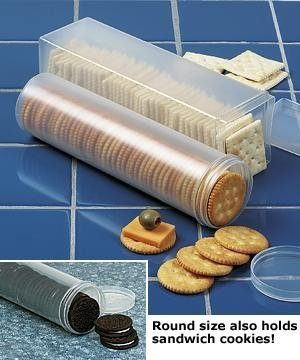 Cracker Sleeve / Cookie Keeper Round and Square Set Just $7.99!