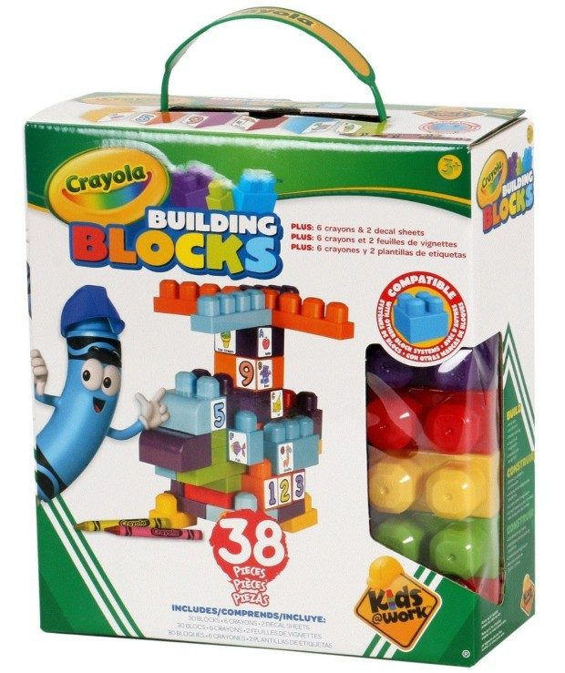 Crayola Kids at Work Building Kit Only $5.60! (Reg. $11)