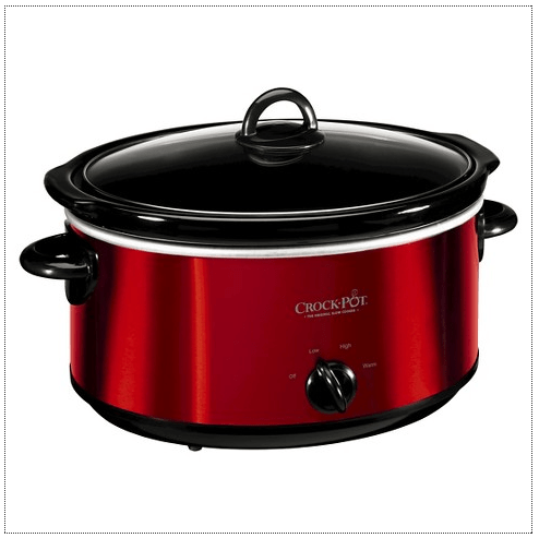 Crock-Pot® 6 Qt Slow Cooker Just $13.60! Ships FREE!