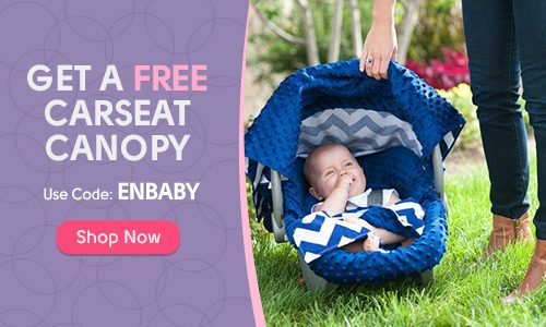 FREE Car Seat Canopy!